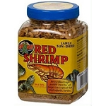 ZOO MED RED SHRIMP SUN DRIED - 2.5 oz jar