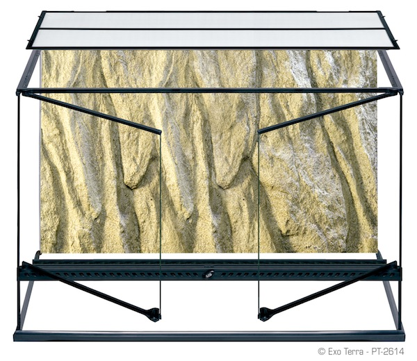 Exo terra glass terrariums large tall 36 x 18 x 24 for 18 x 24 window
