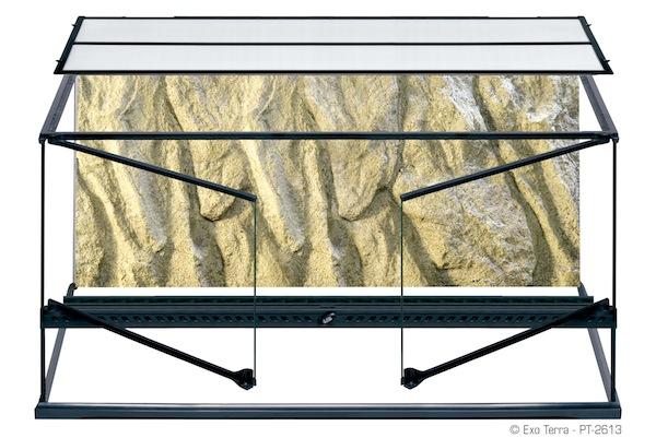 Exo terra glass terrariums large wide 36 x 18 x 18 for 18 x 18 window