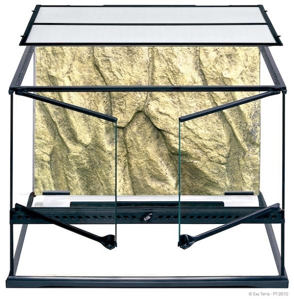 Exo terra glass terrariums medium wide 24 x 18 x 18 for 18 x 18 window