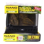 EXO-TERRA GLASS TERRARIUMS - NANO WIDE - 8