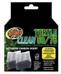 ZOO MED TURTLE CLEAN 50/75 CARBON insert, 2 pack