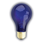 NIGHT BLUE REPTILE BULB - 75 WATT