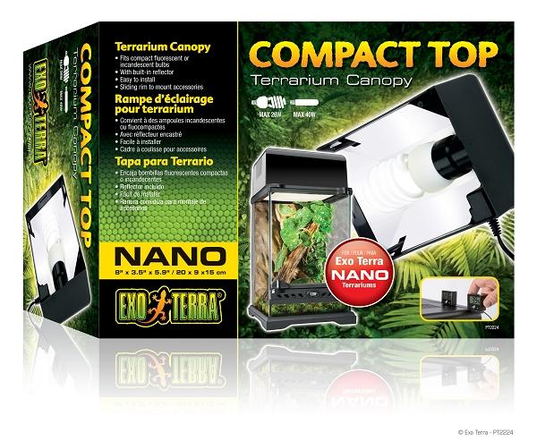 Exo Terra Compact Top Fixture Nano
