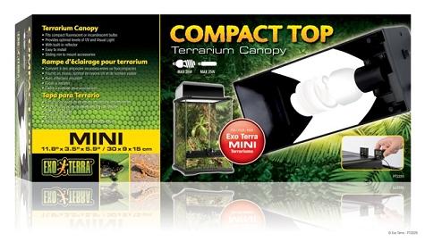 Exo Terra Compact Top Fixture Mini