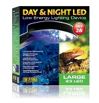EXO TERRA DAY & NIGHT LED LIGHT - 3 watt large