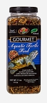 ZOO MED GOURMET AQUATIC TURTLE FOOD - 11oz