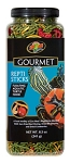 ZOO MED - GOURMET REPTI STICKS - FLOATING AQUATIC TURTLE FOOD - 8.5 OZ
