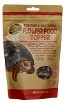 ZOO MED FLOWER FOOD TOPPER - TORTOISE & BOX TURTLE, 1.4 oz bag
