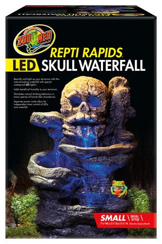 Zoo Med Sm Led Waterfall Skull