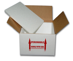 "REPTILE INSULATED SHIPPING BOX - 12"" X 12"" X 10"" (Large)"