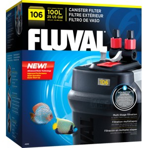 FLUVAL 106 CANISTER FILTER - 25 gallons