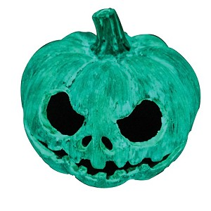 z OUT OF STOCK - HALLOWEEN - EXO TERRA PUMPKIN HIDE - GLOW IN THE DARK