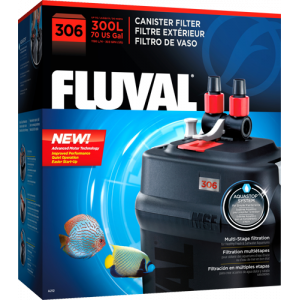 FLUVAL 306 CANISTER FILTER - 70 gallons