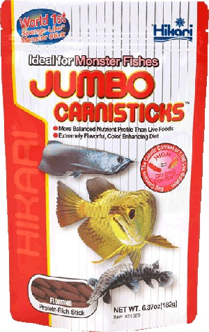 HIKARI JUMBO CARNISTICKS - 6.37 oz bag