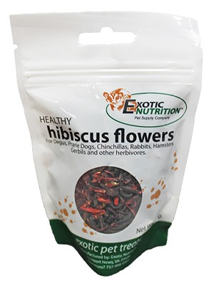 HIBISCUS FLOWERS - EXOTIC NUTRITION - DRIED 42g bag