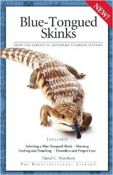 Blue Tongued Skinks Book