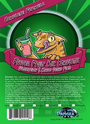 PANGEA COMPLETE DIET FRUIT MIX - WATERMELON & MANGO - 2 OZ