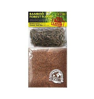 EXO TERRA BAMBOO FOREST FLOOR, 4 QT (Includes Bamboo leaf litter)