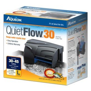 AQUEON FILTERS - QUIETFLOW 30 - up to 45 gal