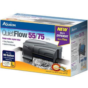 AQUEON FILTERS - QUIETFLOW 55/75 - up to 90 gal