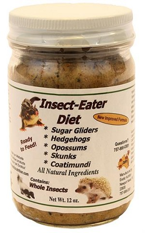 INSECT-EATER DIET - EXOTIC NUTRITION, 12 oz
