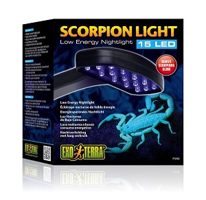 EXO TERRA SCORPION LIGHT - MAKES SCORPIONS GLOW, 15 LED LIGHT