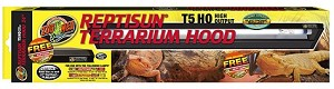 z OUT OF STOCK - REPTISUN T5 HO TERRARIUM HOOD  - 24 inch