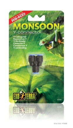 EXO TERRA MONSOON Y-CONNECTOR - PT2498