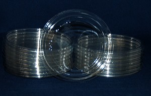 CLEAR PLASTIC LID - FITS our 8 oz or 12oz cups