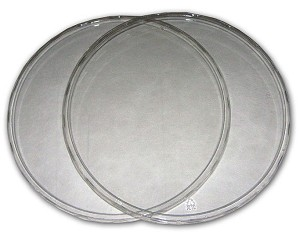 "CLEAR PLASTIC LID - fits our 32oz, 6.75"" diameter container"