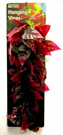 "REPTOLOGY HANGING VINE, 24"" LONG, RED"