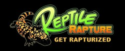 Reptile Rapture Bumper Sticker - RR logo