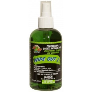 ZOO MED WIPE OUT 1 - 8.75 oz bottle