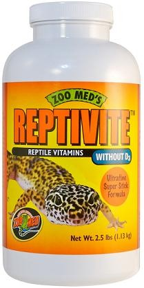 ZOO MED REPTILE VITAMINS W/O D3, 2oz