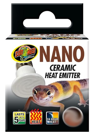 z OUT OF STOCK - ZOO MED - NANO CERAMIC HEAT EMITTER - 25 WATT