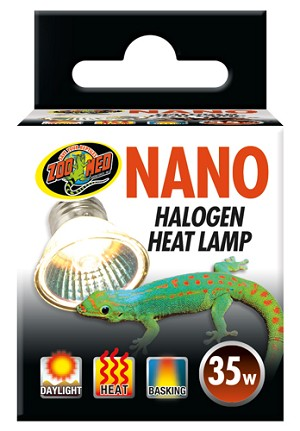ZOO MED - NANO HALOGEN HEAT LIGHT - 35 WATT