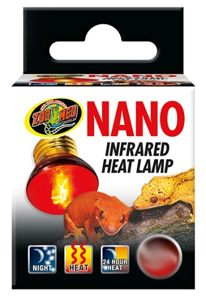 ZOO MED - NANO INFRARED HEAT LIGHT - 25 WATT