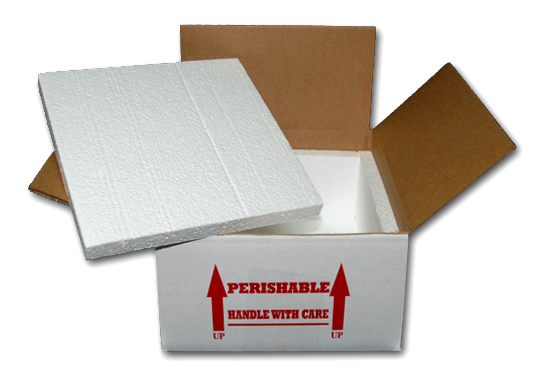 REPTILE INSULATED SHIPPING BOX - 11