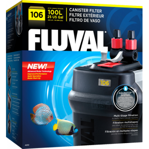 OUT OF STOCK - FLUVAL 106 CANISTER FILTER - 25 gallons