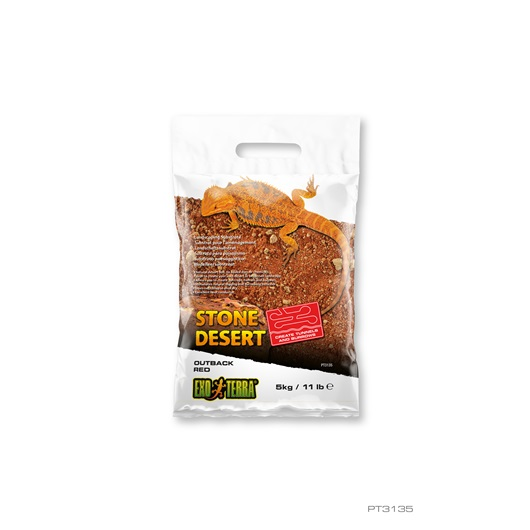 EXO TERRA - OUTBACK RED STONE DESERT SUBSTRATE - 11 LBS.