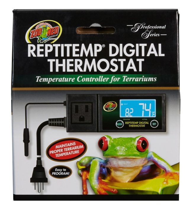 OUT OF STOCK - ZOO MED REPTITEMP DIGITAL THERMOSTAT