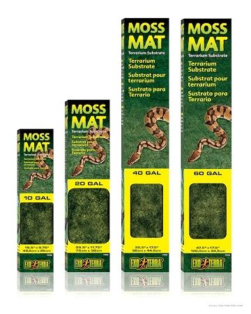 Exo Terra Moss Mat Terrarium Liner 60 Gal