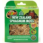 OUT OF STOCK - ZOO MED NEW ZEALAND SPHAGNUM MOSS - 80 in3 box