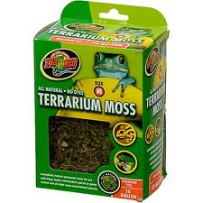 OUT OF STOCK - ZOO MED TERRARIUM MOSS  - 10 gal