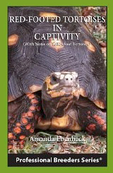 OUT OF STOCK - Red-footed tortoises in captivity book