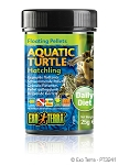 EXO TERRA - AQUATIC TURTLE FLOATING PELLETS - HATCHLING .8 oz