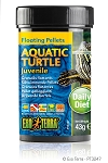 OUT OF STOCK - EXO TERRA - AQUATIC TURTLE FLOATING PELLETS - JUVENILE 1.5 oz.