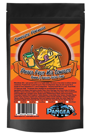 PANGEA COMPLETE DIET FRUIT MIX - Banana Apricot 8 oz