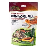 ZILLA OMNIVORE MIX - REPTILE MUNCHIES - 4 OZ BAG